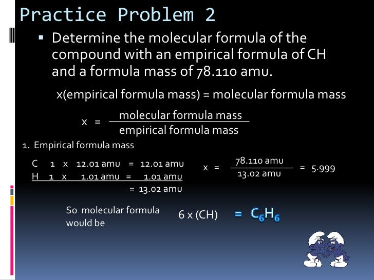 Chapter 7.4 : Determining Chemical Formulas