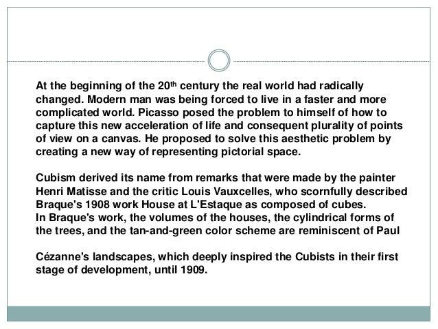 Chapter 7 cubism