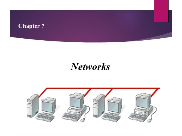 Chapter 7  Networks