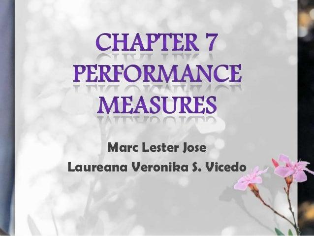 Marc Lester Jose Laureana Veronika S. Vicedo