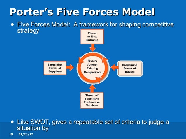 coldstone analysis porters model Porters five forces analysis competitive advantage and how it incorporates with michael porter's five forces model and the three generic strategies.