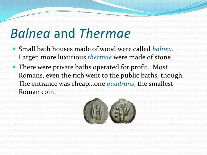 Chapter 7 Roman Baths