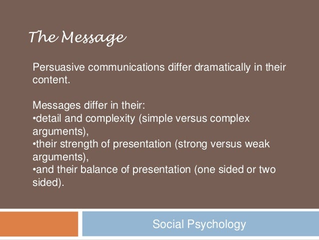 influence and persuasion (digital) influence is the capacity to affect others to take actions and/or change  opinions or behavior it can happen directly (persuasion) and indirectly however .