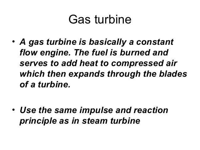 Chapter 71  gas turbine Slide 2
