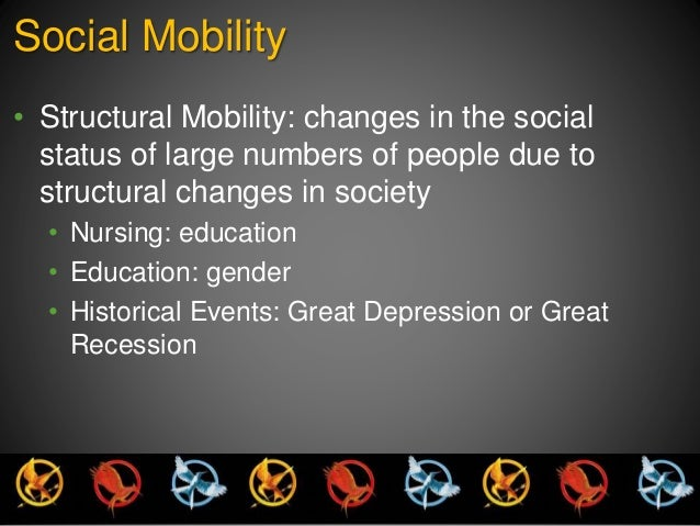 "a comparison of horizontal vertical social mobility and structural mobility Social mobility: social mobility but no change in social class, it is called ""horizontal mobility"" a high rate of vertical mobility may produce."