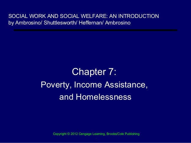 SOCIAL WORK AND SOCIAL WELFARE: AN INTRODUCTIONby Ambrosino/ Shuttlesworth/ Heffernan/ Ambrosino                          ...