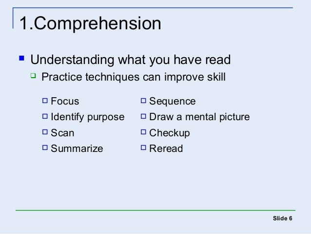 how to enhance reading skills Enhance reading instruction in the elementary grades in order to make best use of the information presented in this report,  phonics skills help children.