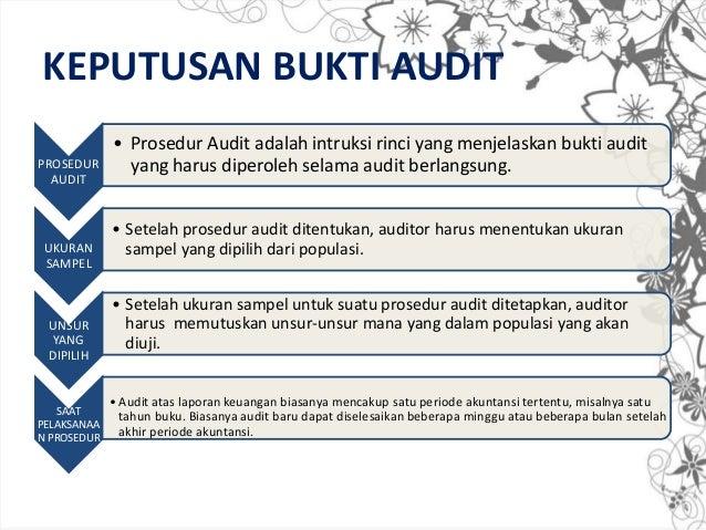 Chapter 7 Bukti Audit
