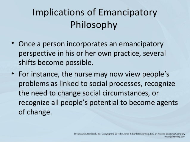 emancipatory knowing Medline abstract printer this article presents a brief overview of the historical and theoretical perspectives underpinning emancipatory knowing and proposes.