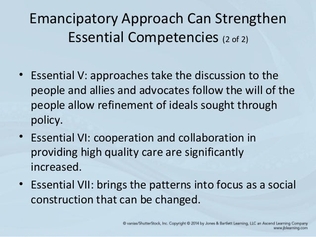 emancipatory knowing The value and significance of knowing the patient for professional practice, according to the carper's patterns of knowing 251 pp: 251-261.