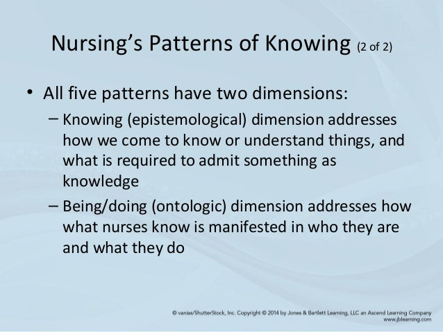 Ways of Knowing in Nursing: The Historical Evolution of a Concept