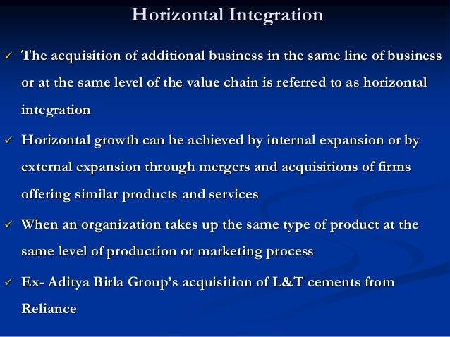 B 3. Expansion through Diversification  Diversification involves moving into new lines of business  Diversification invo...