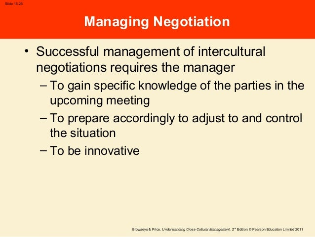 intercultural negotiation and communication Intercultural negotiation process: chapter10 1 chapter 10 interculturalnegotiation process international business communication, 4th ed, chaney & martin.