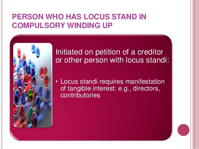 MEMBERS VOLUNTARY WINDING UP AND CREDITORS VOLUNTARY A  voluntary winding-up may be  : (a) a members' voluntary winding-u...