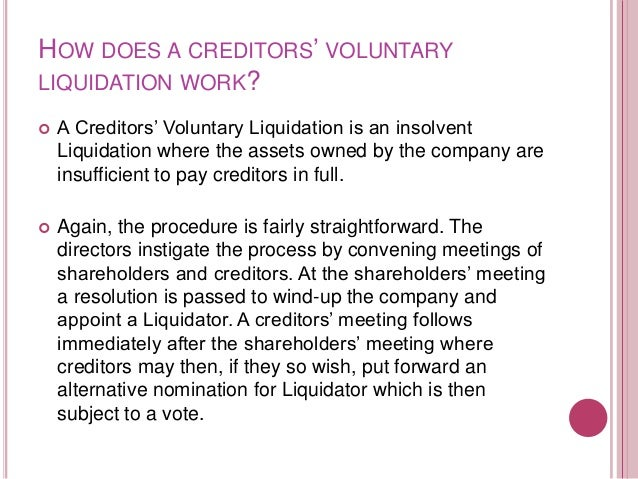 7.2 DISCUSS THE ACCEPTANCE OF AUTHORITY & THE PRIMARY FUNCTIONS OF A LIQUIDATOR & EVIDENCE & PRIORITIES OF DEBTS   Powers...