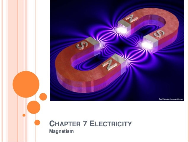 CHAPTER 7 ELECTRICITYMagnetism