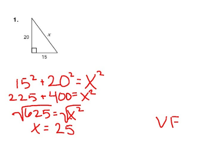Geometry Chapter 7 Practice Test  B  P6