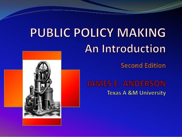 The final stage of the policy process is the evaluation of policy. Actually, it occurs throughout the policy process as we...