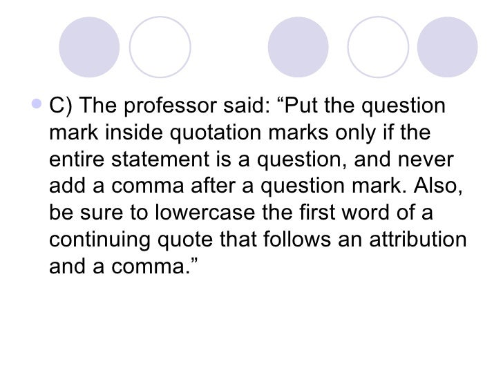 Comma After Quotation Marks Magdalene Project Org