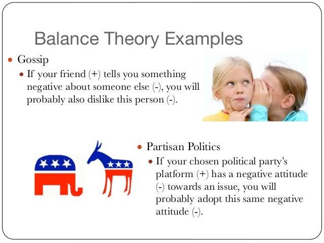 balance theory examples