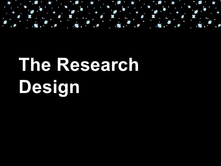 The ResearchDesign