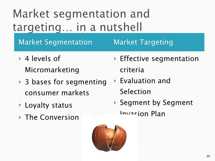 how does new balance identify market segments Market segmentation refers to the  trade with a starting balance of  companies can generally use three criteria to identify different market segments:.