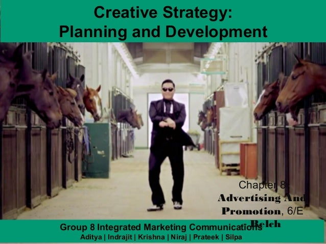 Creative Strategy:Planning and Development                                      Chapter 8                                 ...