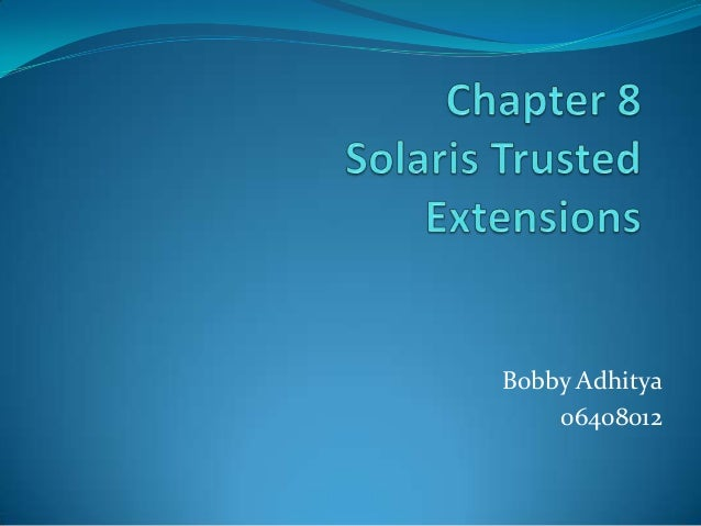 Bobby Adhitya    06408012