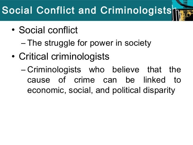 discussing the social causes of crime criminology essay In this essay, i would like to discuss four main subjects that we need to study in criminology: analyses the cause of crime, crime prevention, explore the media presentation of crime and understand the formation and application of law (walklate, 2011.