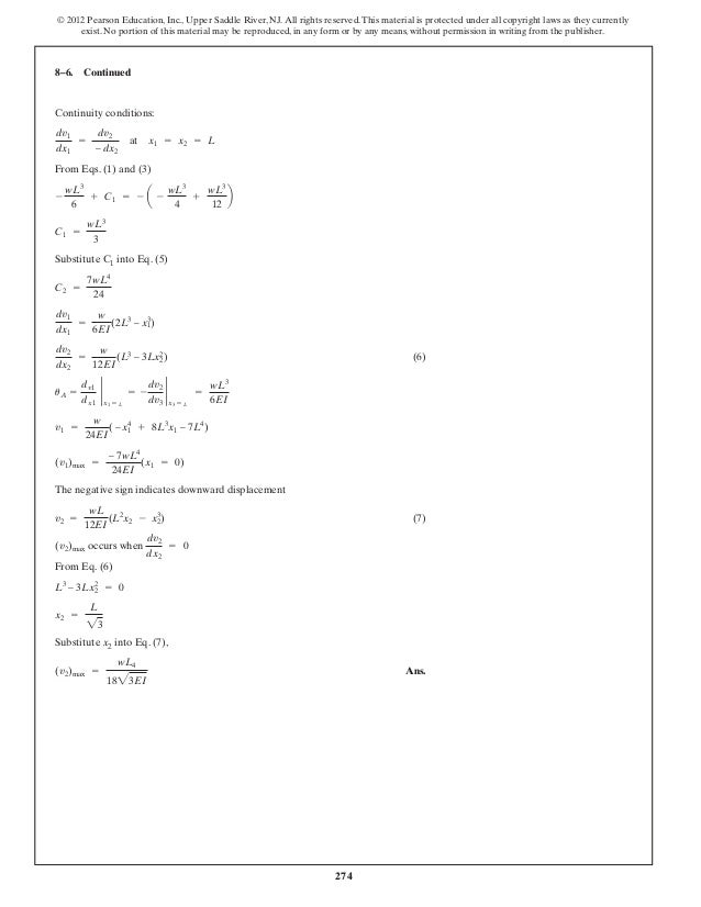 structural analysis CE engg. solved ex.