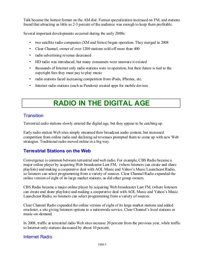 Radio Broadcasting Music Director Resume Esl Argumentative Essay