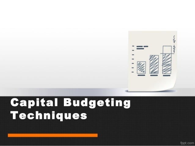 a survey of capital budgeting methods Course title: seminor in finance course code: mph 622 presentation on survey and analysis of capital budgeting methods written by: lawarance d schall, gary l.