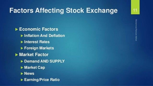 Factors affecting foreign exchange market
