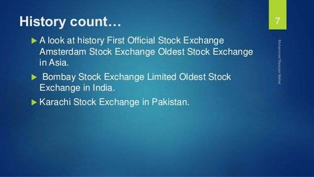 introduction to stock markets in pakistan Ifc markets holds professional lndemnity for financial institutions insurance in aig europe limited  stock trading information  introduction to trading.