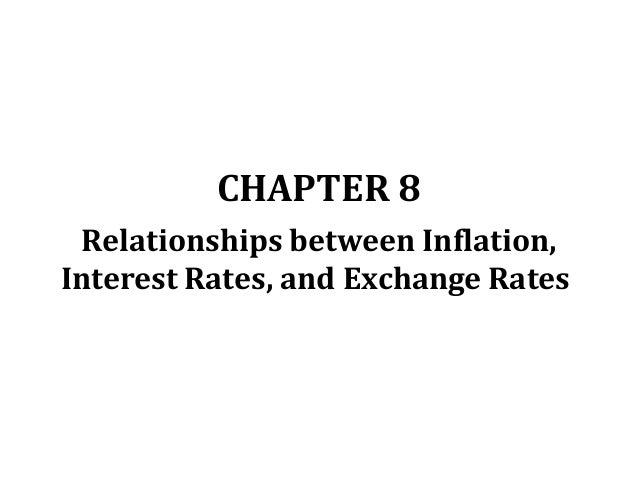 interest rates and exchange relationship goals