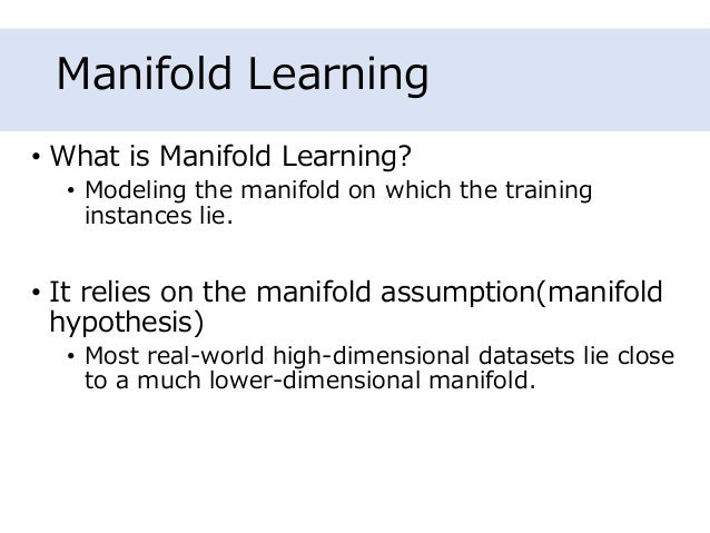 Hands-On Machine Learning with Scikit-Learn and TensorFlow - Chapter8