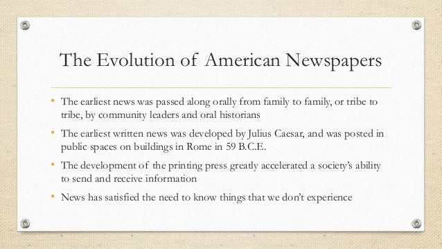 Decline of newspapers