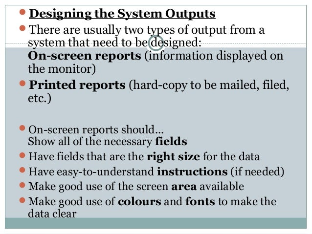 thesis of system analysis and design