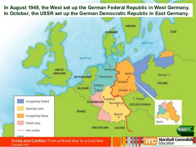 an analysis of cold war in germany Key to reviving western europe was to allow germany's the post-cold war period and a critique of u from an analysis of the impact on the legacy.
