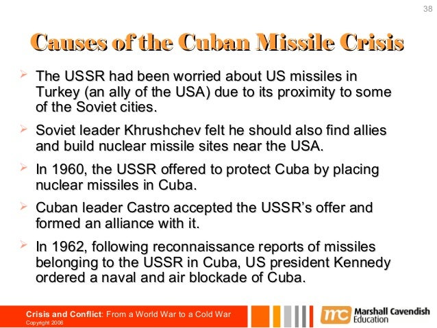 significance of cuban missile crisis How significant was fidel castro's role in  castro's significance in the crisis can either justify or  the cuban missile crisis made its mark on the.