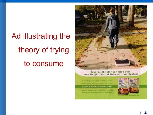 8 - 23 Ad illustrating the theory of trying to consume