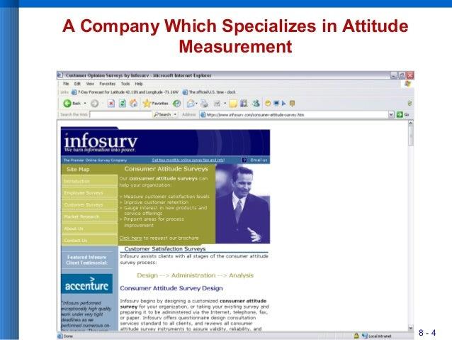 8 - 4 A Company Which Specializes in Attitude Measurement