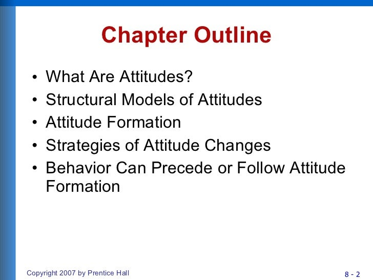 Chapter 8 Consumer Attitude Formation And Change Slide 2