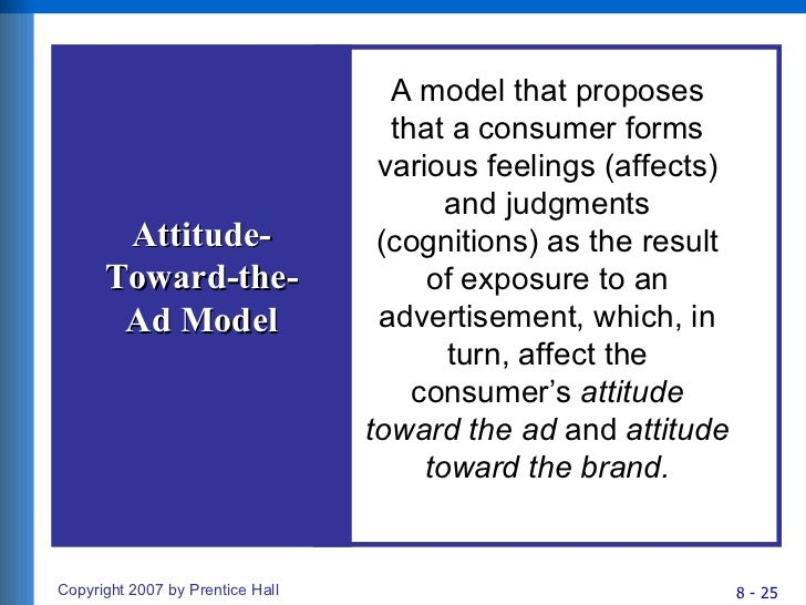 consumer attitude formation and change The theory of attitude formation and change and its application to social group work by john f jones introduction why do people think the way they do.