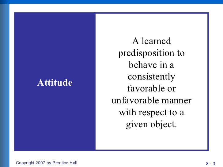 Chapter 8 Consumer Attitude Formation And Change Slide 3