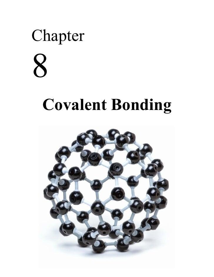Chapter8 Covalent Bonding