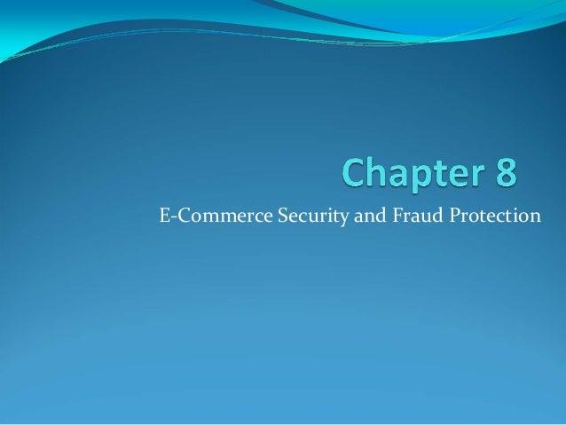 E commerce fraud