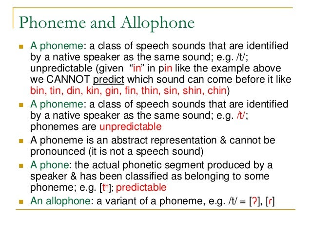 Phonology Chapter 8