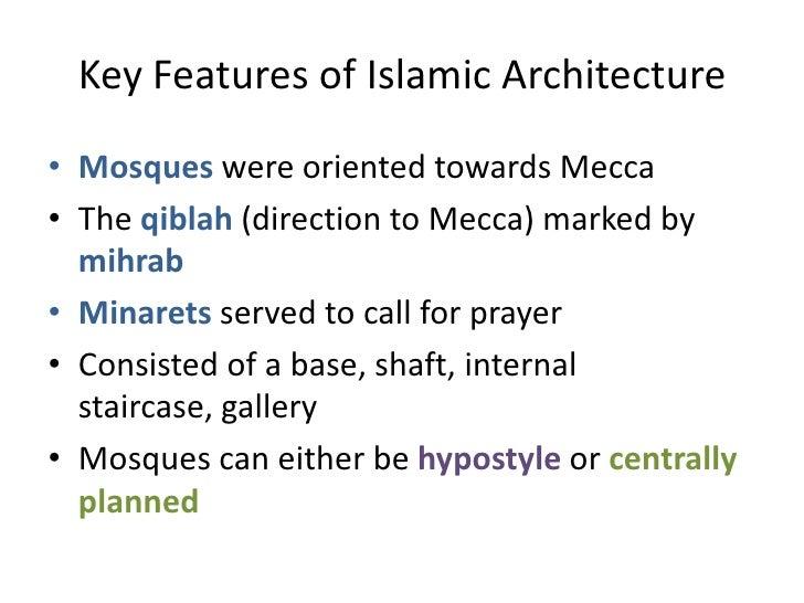 characteristics of islamic architecture pdf