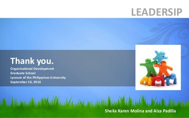 organizational development leadership Organizational development and leadership to be an effective leader, you have to be authentic and to be authentic you have to understand yourself and your impact on others.